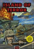 Graphic History: Island of Terror GN (2006 Osprey) Battle of Iwo Jima 1-1ST