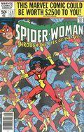 Spider-Woman (1978-1983 1st Series) Mark Jewelers 30MJ