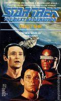 Star Trek The Next Generation Ghost Ship PB (1988 Pocket Novel) 1-1ST