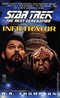 Star Trek The Next Generation Infiltrator PB (1996 Pocket Novel) 1-1ST