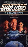 Star Trek The Next Generation The Peacekeepers PB (1988 Pocket Novel) 1-1ST