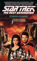 Star Trek The Next Generation Power Hungry PB (1989 Pocket Novel) 1-REP