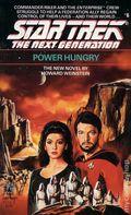 Star Trek The Next Generation Power Hungry PB (1989 Pocket Novel) 1-1ST