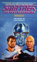 Star Trek The Next Generation Masks PB (1989 Pocket Novel) 1-1ST