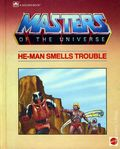 Masters of the Universe He-Man Smells Trouble HC (1985 Western) A Golden Book 1-1ST