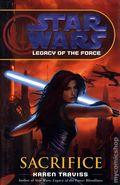 Star Wars Legacy of the Force Sacrifice HC (2007 Novel) 1A-1ST