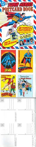 Super Heroes Postcard Book 0