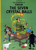 Adventures of Tintin The Seven Crystal Balls GN (1975 LBC) 1-REP