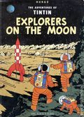 Adventures of Tintin Explorers on the Moon GN (1976 Magnet) 1-REP
