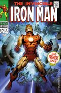 Iron Man Omnibus HC (2008-2010 Marvel) 1st Edition 2A-1ST