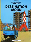 Adventures of Tintin Destination Moon GN (1976 Little Brown and Company) 1-REP