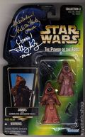 Star Wars Action Figure (1995-1997 Kenner) Signed Package JAWAS