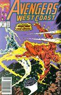Avengers West Coast (1985) Mark Jewelers 63MJ