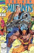 New Mutants (1983 1st Series) Mark Jewelers 94MJ