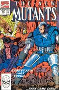 New Mutants (1983 1st Series) Mark Jewelers 91MJ