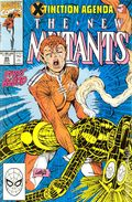 New Mutants (1983 1st Series) Mark Jewelers 95MJ