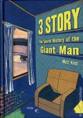 3 Story The Secret History of the Giant Man HC (2009 Dark Horse) 1-REP