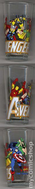 Toon Tumblers Marvel Comics Pint Glasses (2010) AVENGERS#1