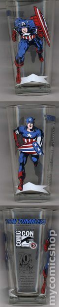 Toon Tumblers Marvel Comics Pint Glasses (2010) SDCCCAPA