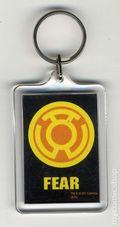 DC Comics Key Chain (1982-Present) YELLOW