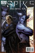 Spike The Devil You Know (2010 IDW) 1A
