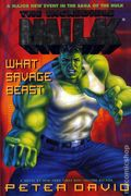 Incredible Hulk What Savage Beast HC (1995 A Marvel Novel) 1-REP