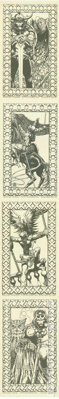 Four Ages of Conan (2nd Ed. Gorblimey Press) Print Set 1974