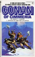 Conan PB (1966-1977 Lancer/Ace Books Novel) 2B-1ST