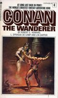 Conan PB (1966-1977 Lancer/Ace Books Novel) 4C-1ST