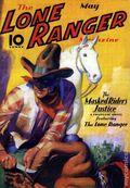 Lone Ranger Magazine May 1937 SC (2010 Novel) 1-1ST