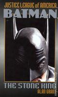 Justice League of America Batman The Stone King PB (2002 Pocket Books Novel) 1-1ST