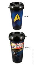 Star Trek 16 oz. Plastic Travel Mug (2010) MUG-01