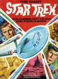 Giant Star Trek Colouring and Puzzle Book SC (1971) 1-1ST