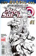 Steve Rogers Super-Soldier (2010 Marvel) 1C