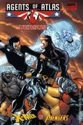 Agents of Atlas vs. X-Men and the Avengers HC (2010 Marvel) 1B-1ST