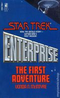 Star Trek Enterprise The First Adventure PB (1986 Pocket Novel) 1-1ST