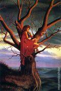 Larry Elmore Fantasy Postcard Magic Users (2001) CARD-05