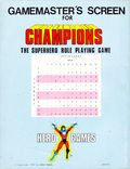 Gamemaster's Screen for Champions the Superhero Role-Playing Game (1981 Hero Games) HER005
