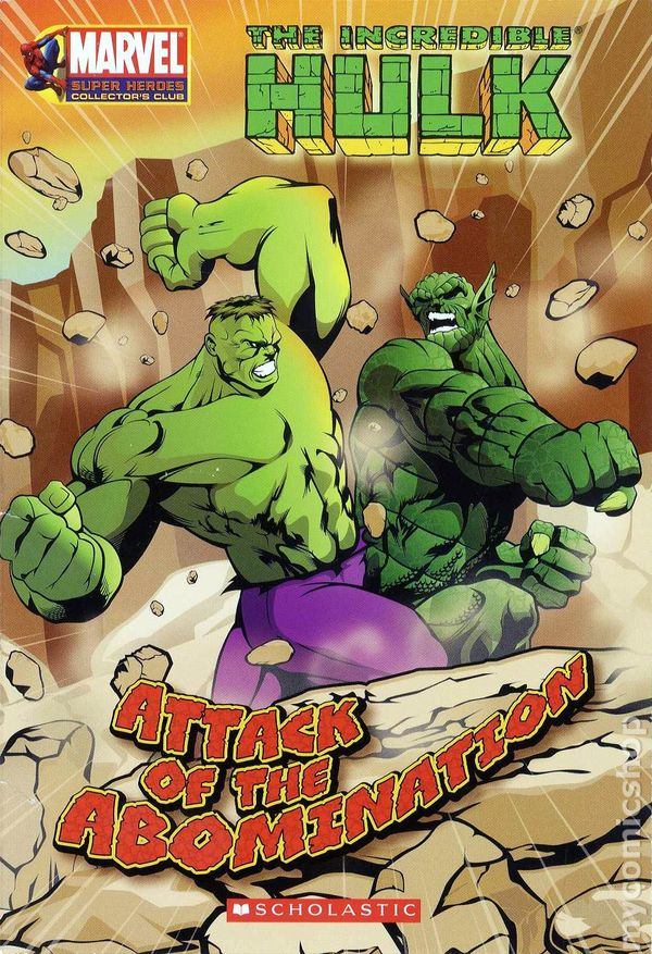 Incredible hulk attack of the abomination sc 2007 1 1st