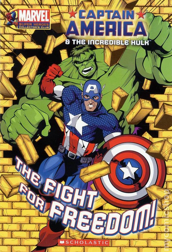Captain america and the hulk the fight for freedom sc 2007 comic