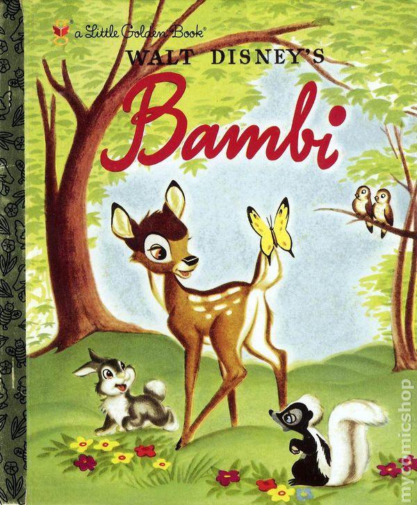 Bambi Hc 2004 Little Golden Book Comic Books