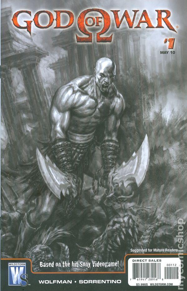 God of War comic books issue 1