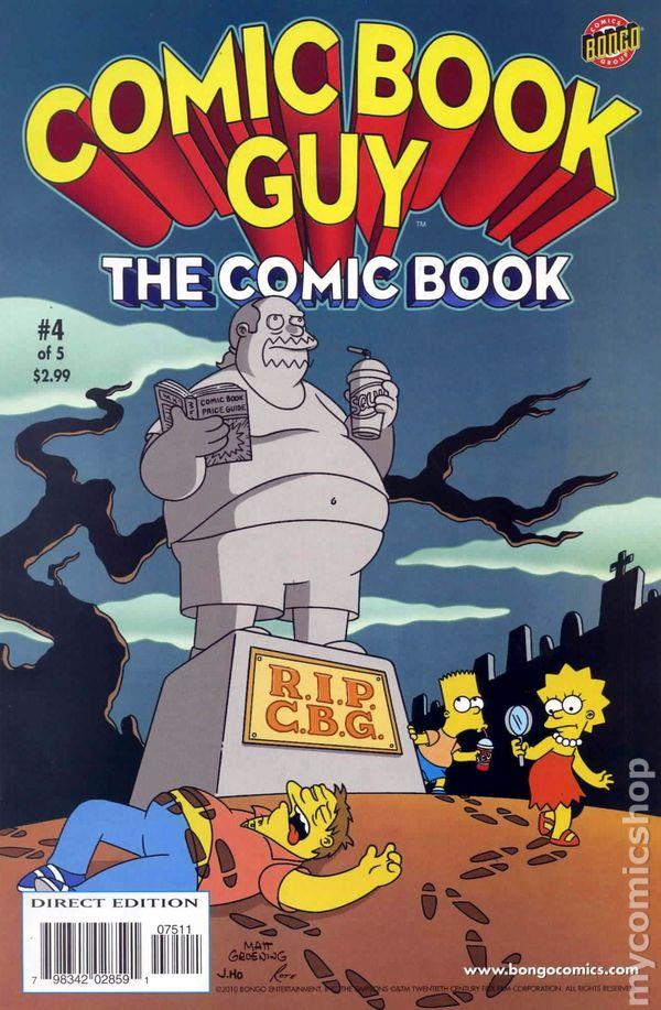 comic guy comics bongo books presents comicbookrealm cartoon adult issue animated uploaded user
