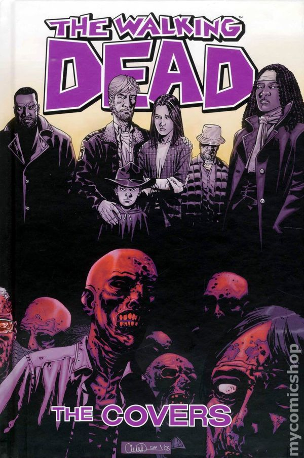 Walking Dead The Covers Hc 2010 Comic Books