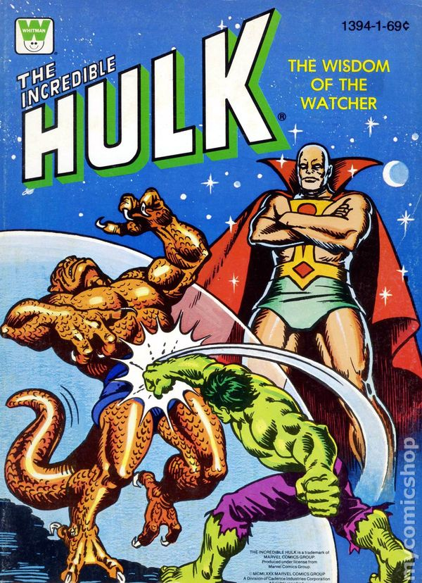 Incredible Hulk Coloring Book SC (1970-1980 Whitman ) comic books