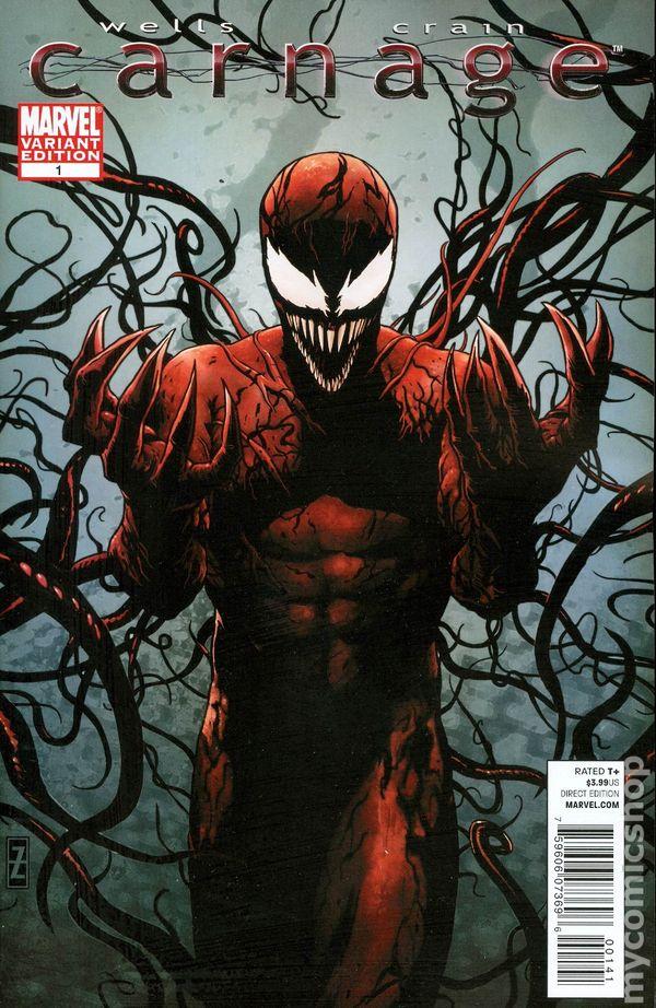 Carnage (2010 Marvel) comic books