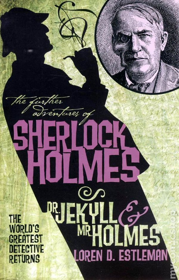 Holmes Comic Books Issue 1