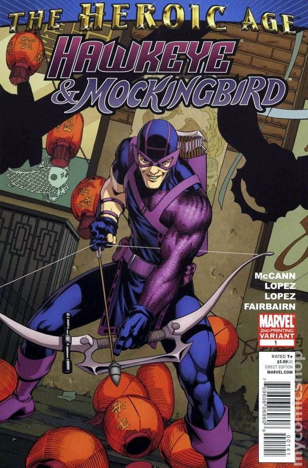 Hawkeye And Mockingbird 2010 1D