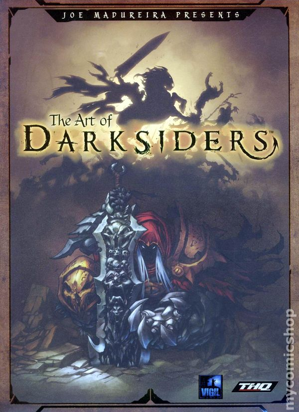 Joe Madureira Presents The Art Of Darksiders Sc 2010 2012 Udon Comic Books
