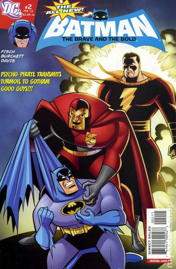 Batman The Brave And The Bold 2011 Dc All New Comic Books